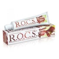 ROCS Teens зубная паста со вкусом колы и лимона для детей и подростков от 8 до 18 лет (74 гр)