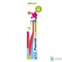 Pierrot Kids Chispa зубная щетка с мягкими щетинками для детей от 2 до 6 лет