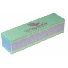 Dona Jerdona Баф шлифовочный двухсторонний зеленый/синий