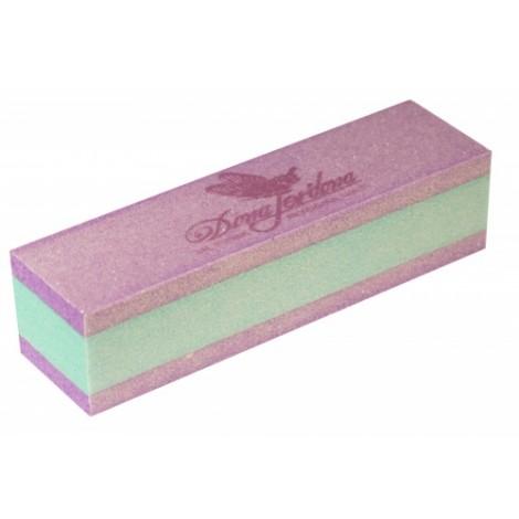 Дона Жердона 101183 баф шлифовочный двухсторонний сиреневый/зеленый