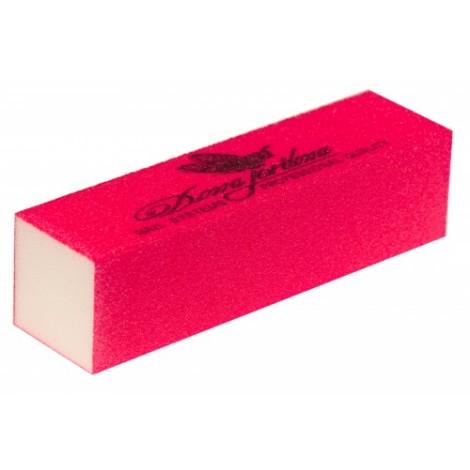 Дона Жердона 100683 баф шлифовочный ярко розовый