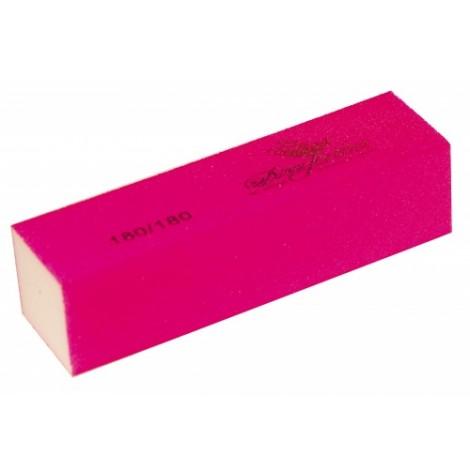 Дона Жердона 100445 баф шлифовочный ярко розовый 180/180 грит