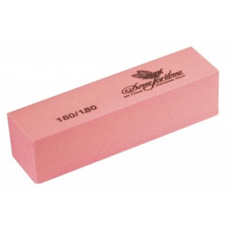 Дона Жердона 100441 баф шлифовочный розовый 180/180 грит