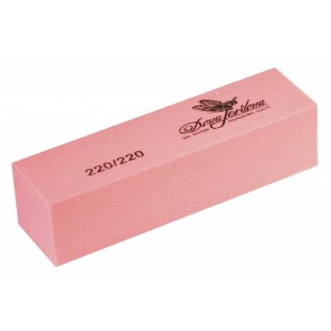 Дона Жердона 100378 баф шлифовочный розовый 220/220 грит