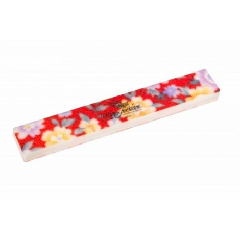 Дона Жердона Д2726-4 шлифовка прямая широкая красные цветы