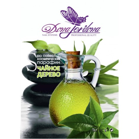 Dona Jerdona 6980 парафин для лица,рук и ног чайное дерево с маслом кокоса (400гр)