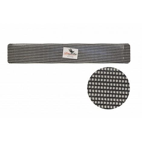 Дона Жердона 7625 пилка для искусственных ногтей 60/60 грит сетчатая прямая широкая черная
