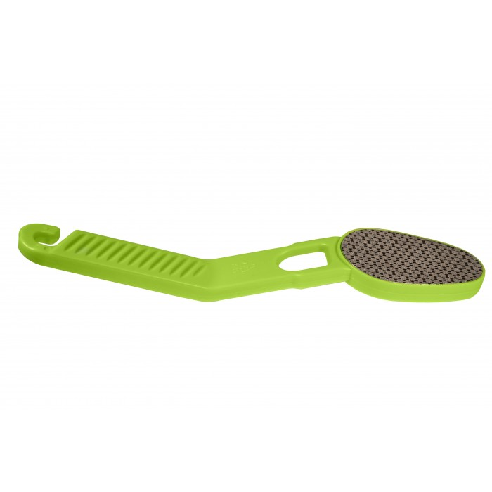 Дона Жердона 100885 зеленая лазерная тёрка для ног с крючком