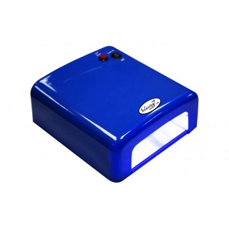 Luxury 818Р-1 синяя UV лампа 36W с таймером на 120 cекунд и бесконечность