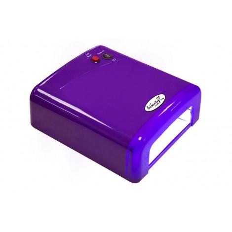 Luxury 818Р-3 фиолетовая UV лампа 36W с таймером на 120 секунд и бесконечность