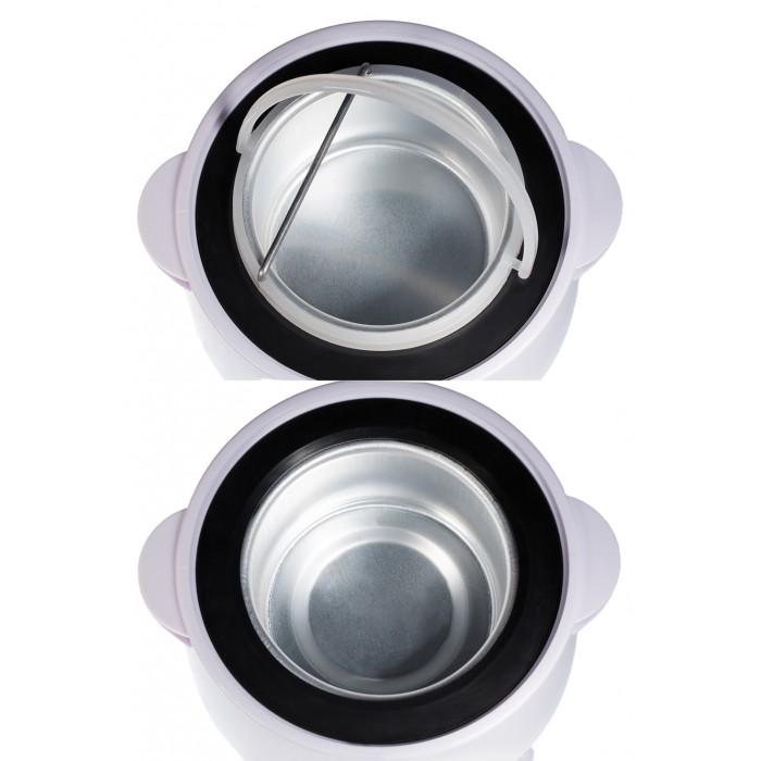 Dona Jerdona VS-303 воскоплав 2в1 банка (400мл) и 3 ёмкости для картриджей в комплекте с шоколадным воском (3шт)