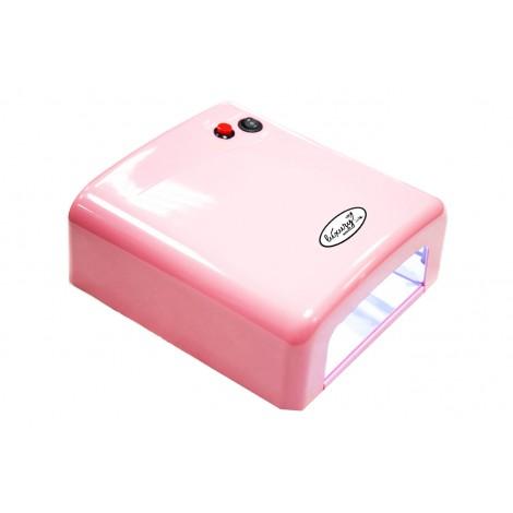 Luxury Лампа UV 36W 120 cек или бесконечность розовая