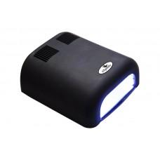 Dona Jerdona 100100 Ч лампа UV 36W 120 cек и бесконечность черная матовая