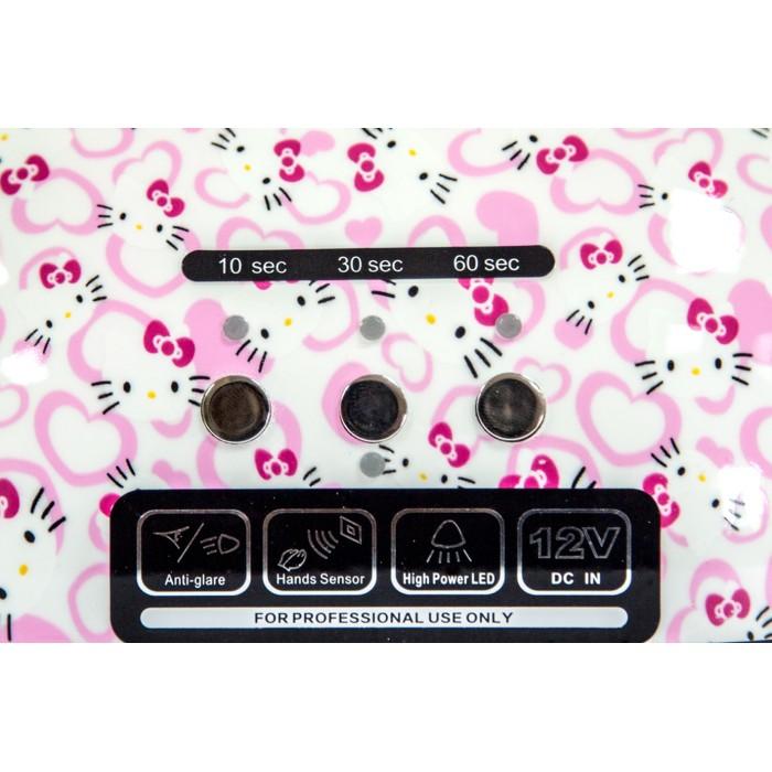 Dona Jerdona LED +CCFL лампа 48 W Hello Kitty таймер 10,30,60 секунд и бесконечность