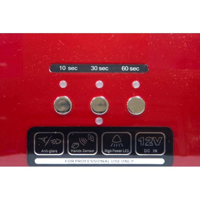 Dona Jerdona  LED +CCFL 48W лампа Красная таймер 10,30,60 секунд и бесконечность