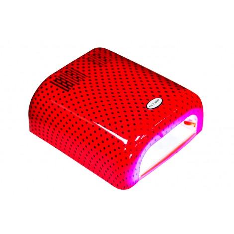 Holy Rose Лампа UV 36W 120 сек или бесконечность оранжевая в горошек