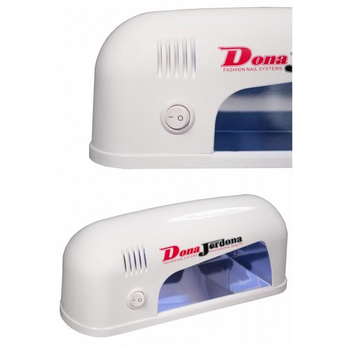 Дона Жердона Д990Б лампа UV 9W круглая белая для домашнего использования