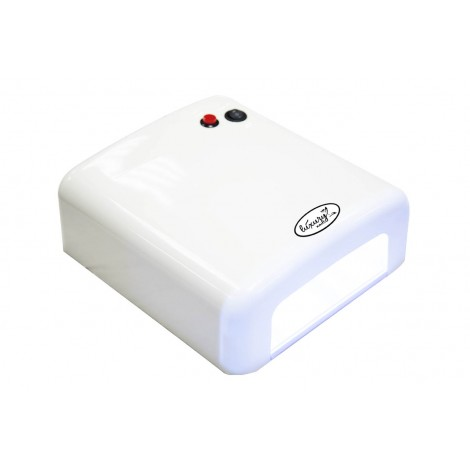 Luxury 818Р-6 белая UV лампа 36W с таймером на 120 секунд и бесконечность