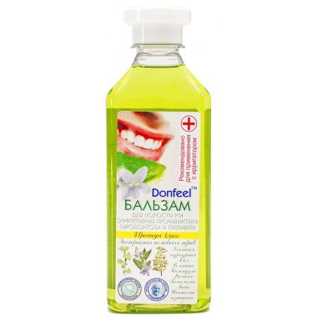 Donfeel бальзам ополаскиватель эффективная профилактика пародонтоза и гингивита (350 мл)