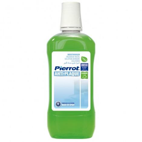 Pierrot Anti-Plaque антибактериальный ополаскиватель для полости рта (500 мл)