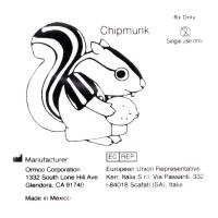 """Ormco Chipmunk Бурундук средне-сильные внутриротовые эластики 1/8"""" 3,5Oz 1D"""
