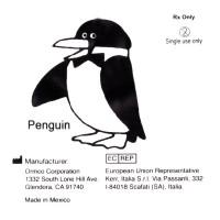 """Ormco Penguin Пингвин средне-сильные внутриротовые эластики 5/16"""" 3,5Oz 4D"""