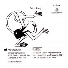 """Ormco Monkey Обезьяна средне-сильные внутриротовые эластики 3/8"""" 3,5Oz 5D"""