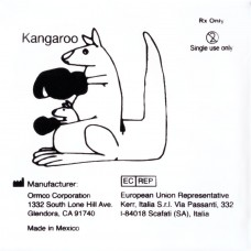 """Ormco Kangaroo Кенгуру сильные внутриротовые эластики 3/16"""" 4,5Oz 2E"""