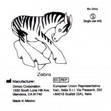 "Ormco Zebra Зебра сильные внутриротовые эластики 5/16"" 4,5Oz 4E"