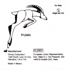 """Ormco Impala Антилопа очень сильные внутриротовые эластики 3/16"""" 6Oz 2F"""