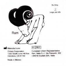 """Ormco Ram Баран очень сильные внутриротовые эластики 1/4"""" 6Oz 3F"""