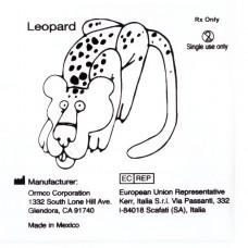 """Ormco Leopard Леопард слабые внеротовые эластики 1/4"""" 8Oz 3G"""