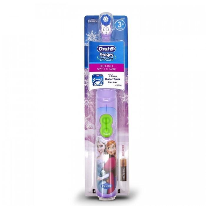 "Braun Oral-B Stages Power 3+ электрическая зубная щетка для детей ""Frozen"" (на батарейках)"
