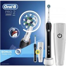 Braun Oral-B PRO 2/2500 CrossAction электрическая зубная щетка черная