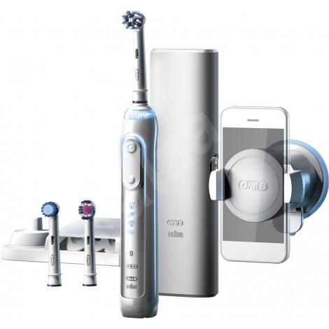 Braun Oral-B PRO Genius 8000 Bluetooth D701.535.5XC электрическая зубная щетка (3 насадки)