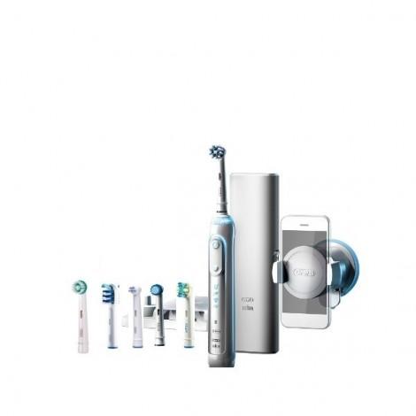 Braun Oral-B PRO Genius 8000 Bluetooth D701.565.5XC электрическая зубная щетка (6 насадок)