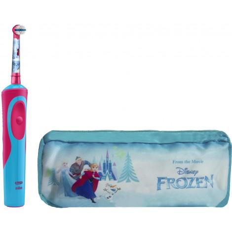 Braun Oral-B Stages Power D12.513.1 Frozen электрическая зубная щетка (аккумуляторная) + пенал