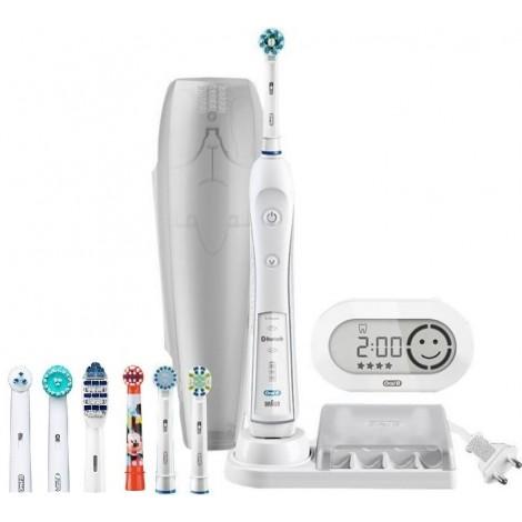 Braun Oral-B Smart Series Pro 6000 D36.565.5X Pro 6000 белая электрическая щетка