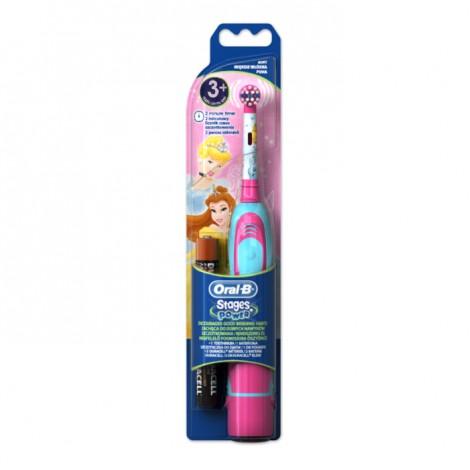 """Braun Oral-B электрическая зубная щетка для детей """"Принцессы"""" Strages Power 3+"""