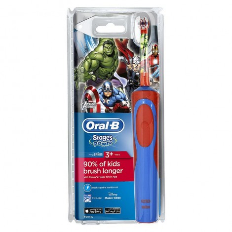 Braun Oral-B Stages Power D12.513.1 Marvel Avengers Assemble (на аккумуляторе)