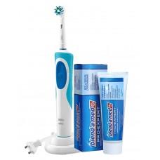Braun Oral-B Vitality Cross Action D12.513 электрическая зубная щетка и паста в подарок