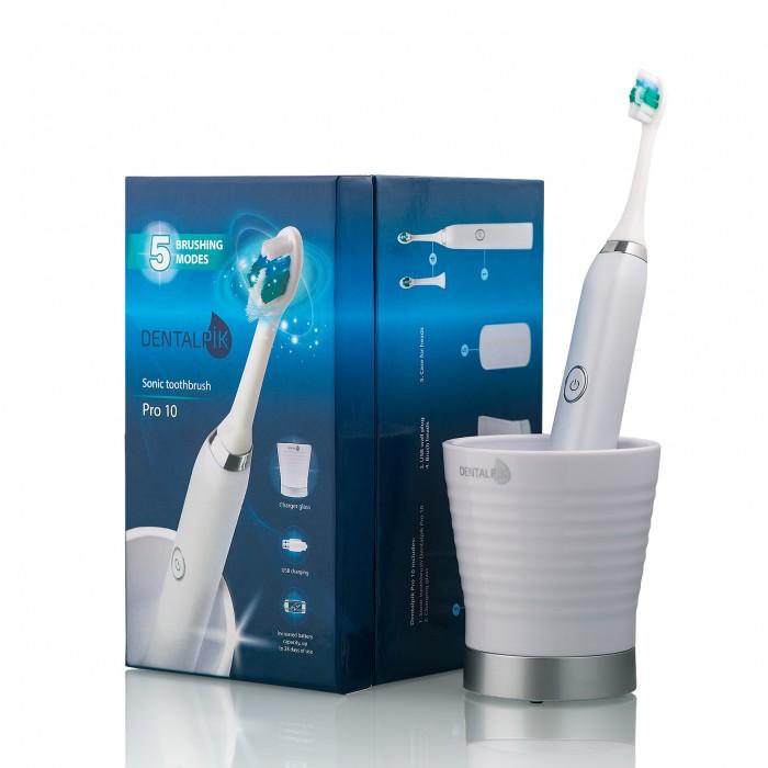 Dentalpik Pro 10 звуковая зубная щетка