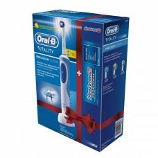 Braun ORAL-B Vitality Precision Clean D12.513 (+ паста) электрическая зубная щётка