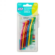 TePe Interdental brush Angle Угловые межзубные ершики 0,4-0,8 мм (6 шт) mix
