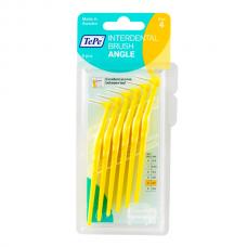 TePe Interdental brush Angle Угловые межзубные ершики 0,7 мм (6 шт) желтые