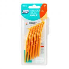TePe Interdental brush Angle Угловые межзубные ершики 0,45 мм (6 шт) оранжевые