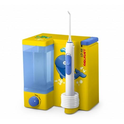 Aquajet LD-A8 желтый детский ирригатор для полости рта