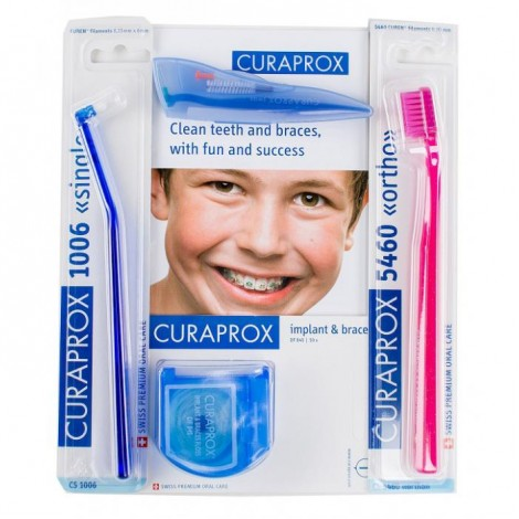 Curaprox Ortho kit ортодонтический набор в косметичке