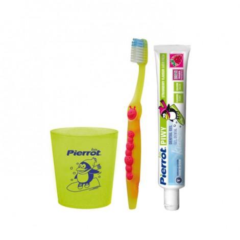Pierrot Junior Kit набор детский 2 в 1 для детей от 2 до 12 лет