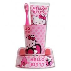 SmileGuard Hello Kitty Toothbrush Timer Gift Set Набор детский(подставка-таймер,стакан,щетка,паста)